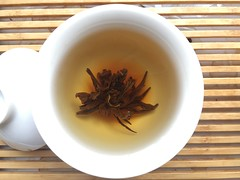 Wild Black Needle Pagoda Dian Hong Cha (mpieracci) Tags: black tea china yunnan pagoda dianhong gaiwan