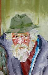 04 óleo sobre lienzo   66x43 cm 1973 (arteneoexpresionista) Tags: rando jorge