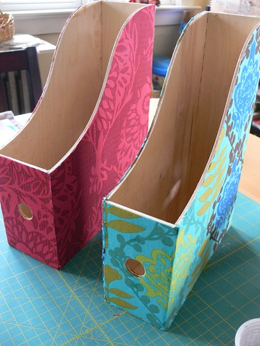 Jenny: Fabric-covered File Holders