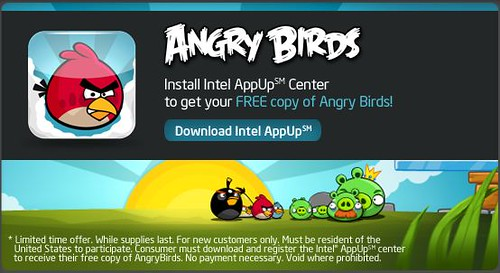 Angry Birds game for PC