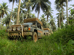 4x4 in djungel (4x4expedition.se) Tags: africa expedition nissan offroad 4x4 ghana patrol overland djungel