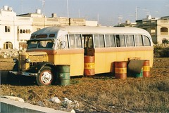 MALTA WRECK 3 (markyboy2105112) Tags: bus abandoned malta fby783