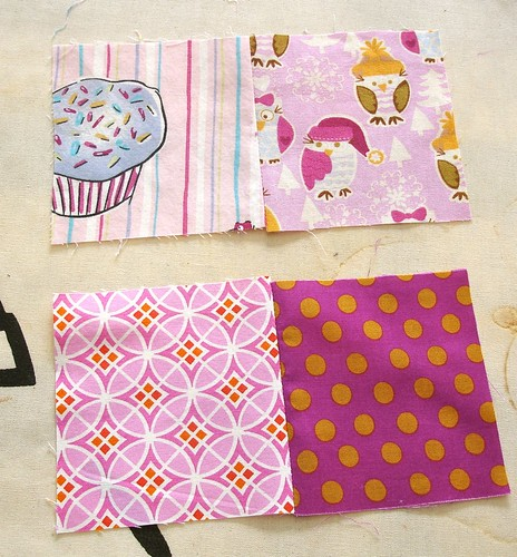 Altered Four Square Quilt Block Tutorial: Pressing Both Pairs