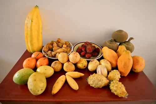 A collection of fruits for under $10.