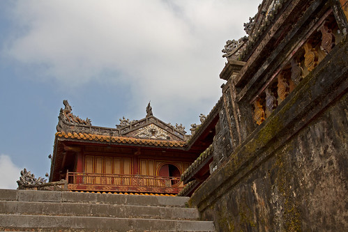 The Citadel in Hué, Vietnam