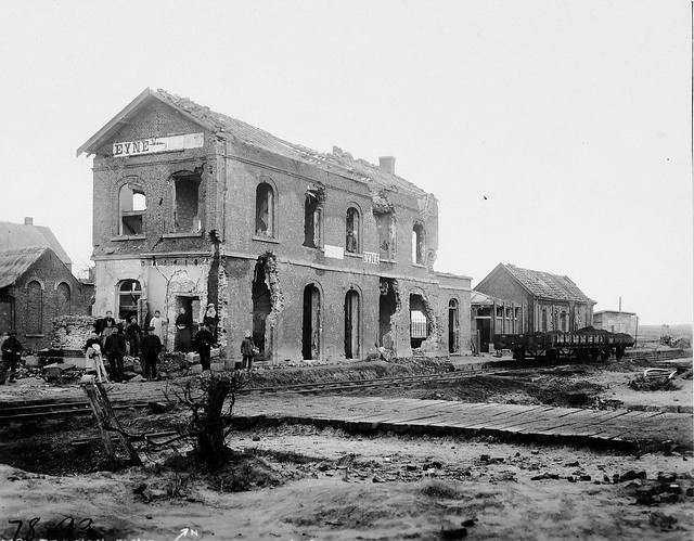 21.1 1918 Eine Station