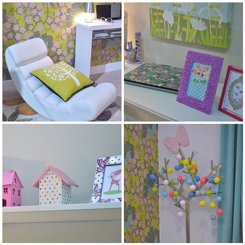 Cute Bedroom @ The Ideal Home Show, 2011