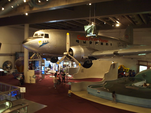 Plane in HK Museum of Science