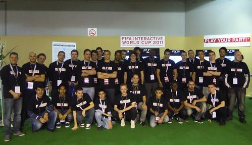 Les 32 participants a¦Ç la phase finale