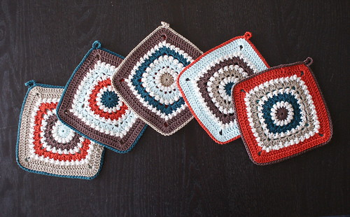 Ravelry Circle Of Friends Square Pattern By Priscilla Hewitt