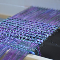 Not-quite-intentional pooling scarf by Project Pictures