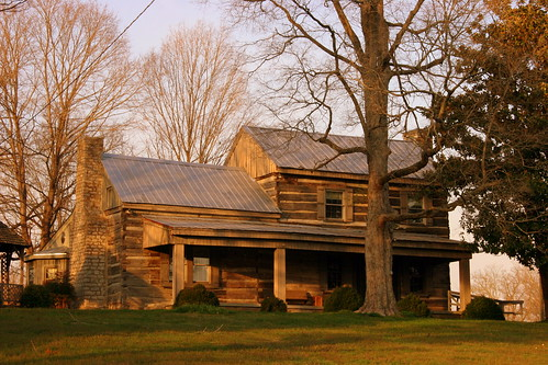 James Buchanan Log House