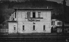 Train Station (Nassau, Germany) (twinsearcher) Tags: nazi haus trainstation bahamas nassau gebude gleise nationalsozialismus altdeutsch weimarerrepublik nsdap 56377 obernhoferstrase
