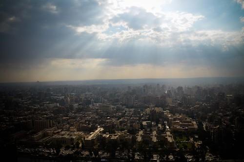 القاهرة من فوق اعلي مبني فيها Cairo from the top by أحمد عبد الفتاح Ahmed Abd El-fatah
