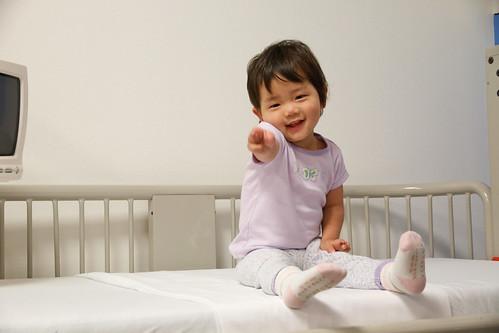 Amelie's 1st Surgery - 4/6/2011