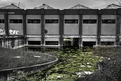 Inundado (Iñaki Couceiro) Tags: españa abandoned industry canon spain industrial country sigma alava 1020 industria basque vasco hdr euskadi fabrica vitoria pais slaughterhouse gasteiz abandonado matadero inundado awash poligono manufactures 400d jundiz