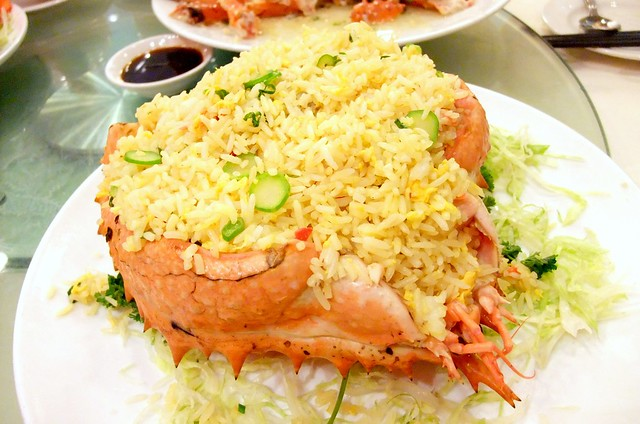 Alaskan King Crab Fried Rice
