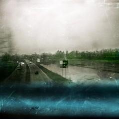 ... a caress me back to see her... (UBU ♛) Tags: blue kodak blues dreams treno ©ubu unamusicaintesta landscapeinblues bluubu luciombreepiccolicristalli