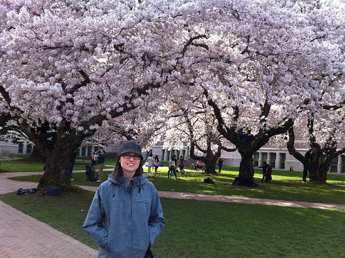 Emily & Cherry Blossoms