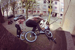 Mark Vos pocket wallride (AaronZwaal) Tags: nijmegen bmx mark bikes fisheye sequence wallride 309 vos fullspeed simpel