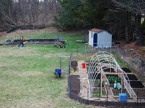 April Gardening 1