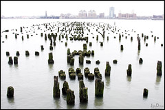 a-pier-ing from the hudson ... (John FotoHouse) Tags: nyc usa water river pier chelsea hudson manhatten dolan 2011 johnfotohouse
