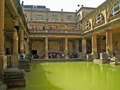 Bellerbys Summer excursions - Roman Baths, Bath (Bellerbys College website) Tags: uklandmarks bellerbyssummer uktouristhotspots