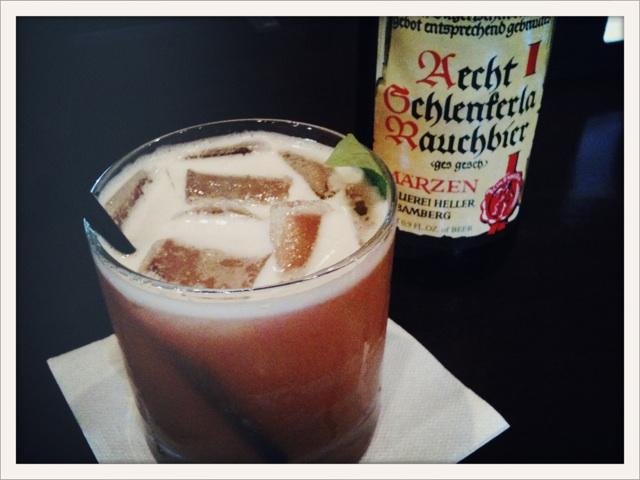 Steingarten beer cocktail by Caroline on Crack