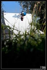 mari_sandner_turncable_quarterpipe_2010_photo_andreas_mohaupt (Andreas Mohaupt I Photographer) Tags: boy sunset summer portrait sky people woman cloud sun lake man tree water girl grass sport sunrise germany fun bavaria warm air flash extreme wakeboard trick boardslide blunt wallride optimusprime funpark tiltshift lipslide thannhausen rocktofakie cablepark wwwandreasmohauptcom airtofakie turncable tailrab