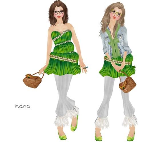 * Donna Flora * PARIS green(1L)