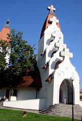 a Millenniumi templom / catholic church (debreczeniemoke) Tags: church catholic transylvania transilvania templom erdély csíkszereda miercureaciuc székelyföld rómaikatolikus makoveczimre millenniumitemplom nagyboldogasszonyésamagyarszentektiszteletére