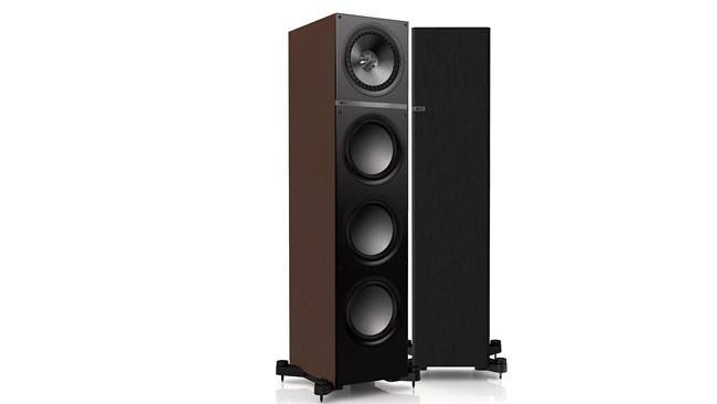 Q900 European Walnut Floorstanding speakers
