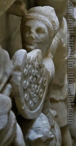 Amazon Savaşçısı, Kütahya Arkeoloji Müzesi
