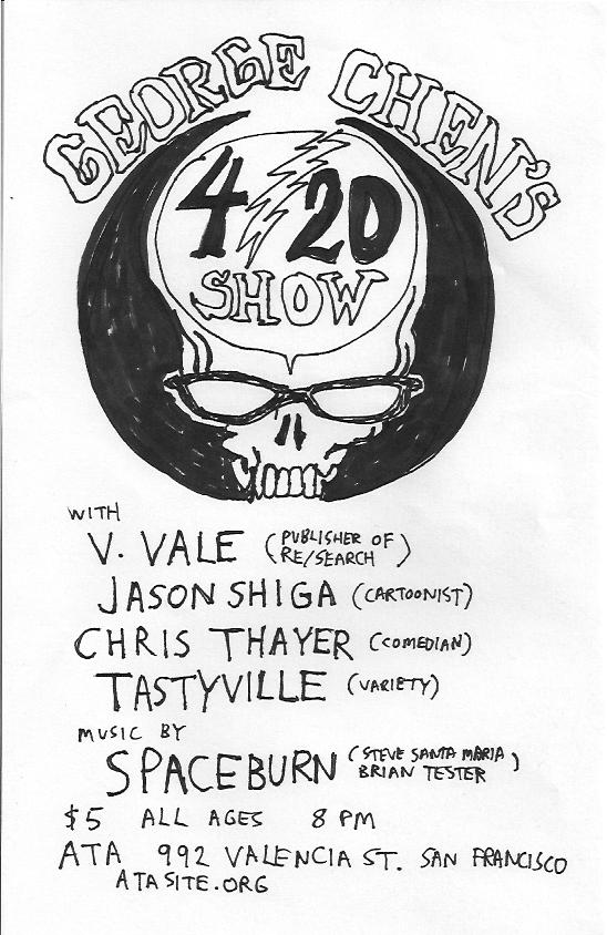 SF: George Chen's 4/20 Variety Show