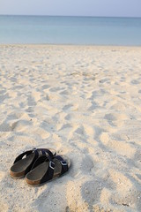 sandal Beach ClubMed Kabira Press Tour