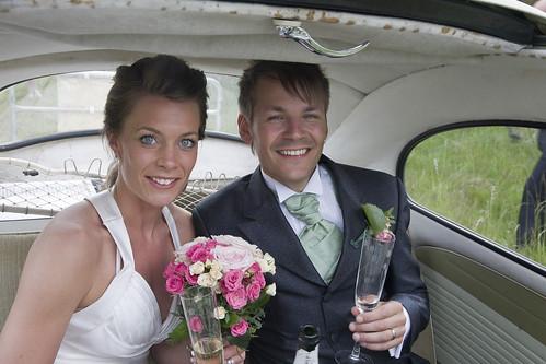 Ida & Davids bröllop by photographer Hans Wessberg