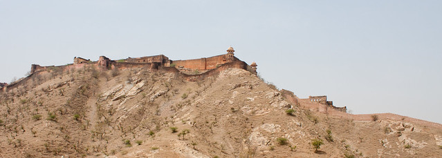 Jaigarh Fort, viewed from Amber Fort