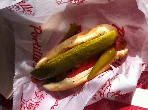portillos hot dog