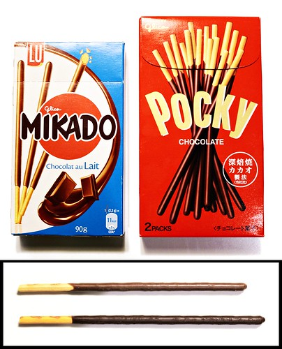 Mikado and Pocky