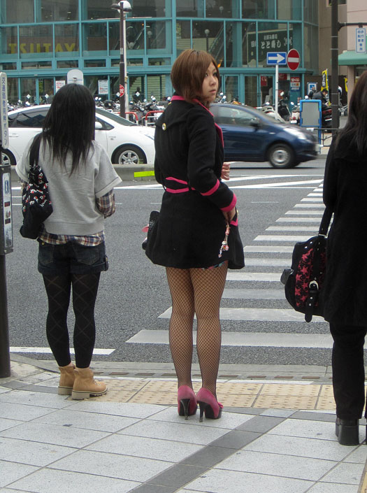 Japanese legs