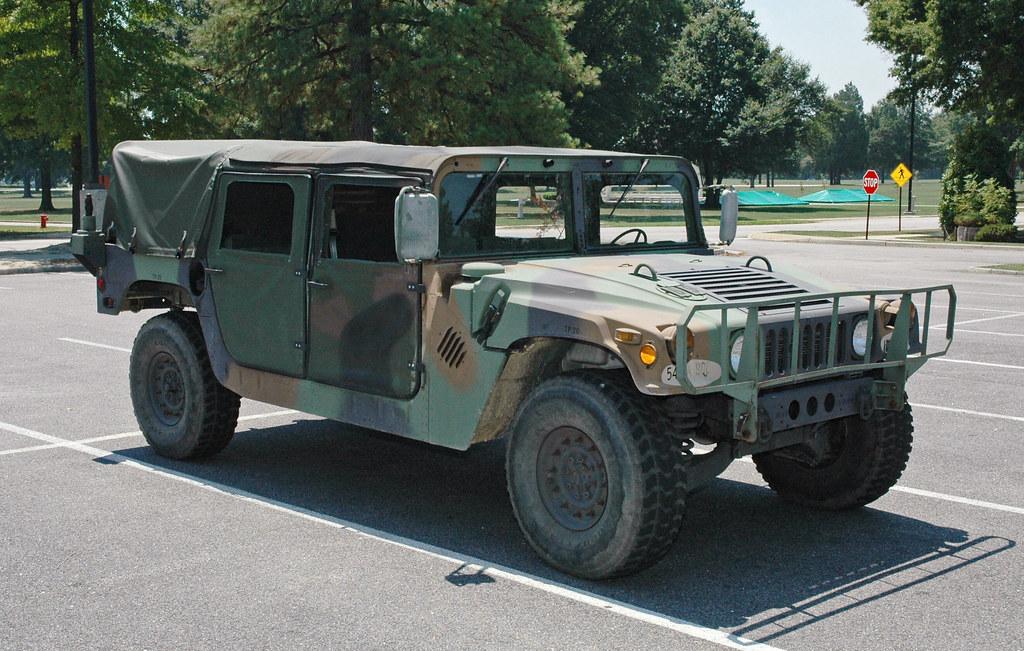 54th Field Artillery Brigade M998 HMMWV