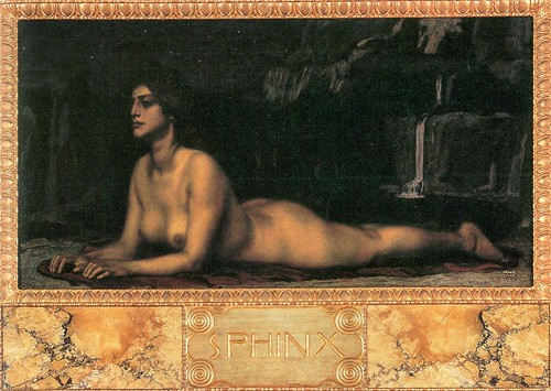 Sphinx by Franz von Stuck