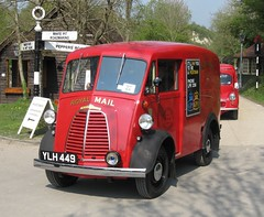 YLH 449 1960 Morris JB Van Amberley (kitmasterbloke) Tags: car truck royalmail gpo postofficevehicleclub