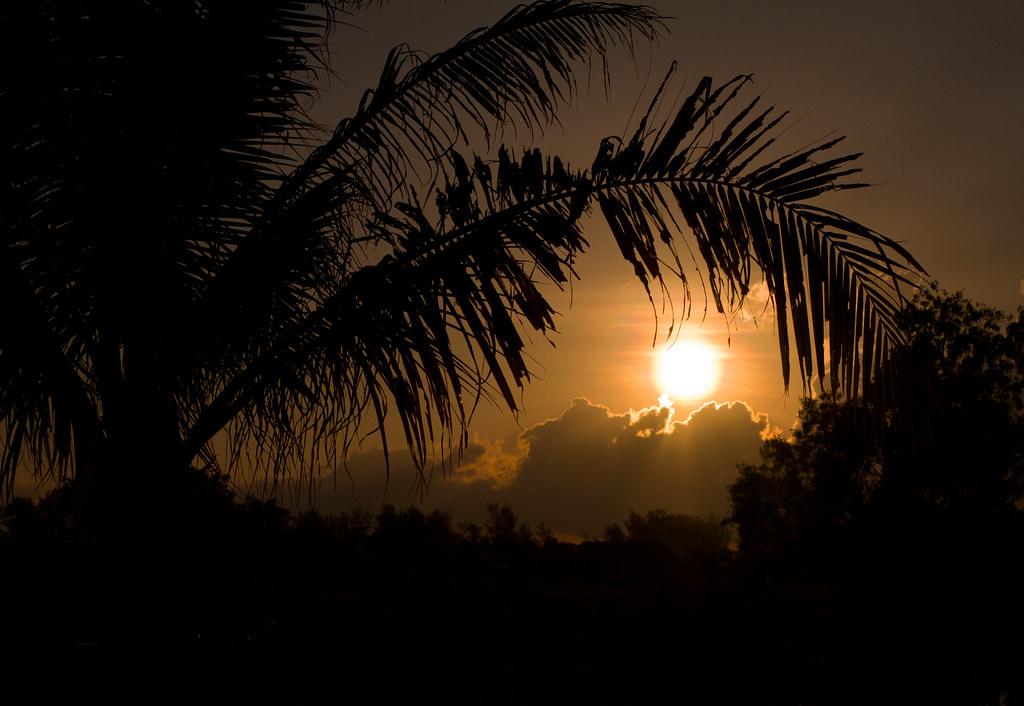 プーケット、夕日