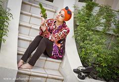 orange model (SAAD AL_FARHAN) Tags: summer orange green model nikon arab saad                   d3s  alfarhan