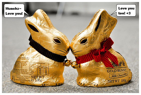 Lindt Gold Easter Bunnies: Dark and Milk Chocolate