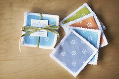 Full Set of Coasters (whitneybee) Tags: crafty coasters designsponge howaboutorange