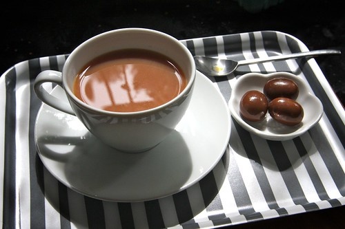 milky tea & malted chocolate eggs