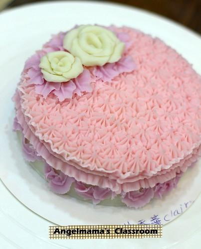 天使媽媽蛋糕皂教學 022