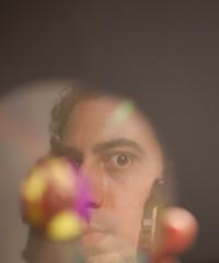 16/52. Reflections (danielito311) Tags: portrait selfportrait reflection retrato cd sony autoretrato reflejo alpha jimihendrix compactdisc week16 sonyalpha discocompacto sonyalpha200 sonyalphadslra200 sonyalphadslr200 52of2011